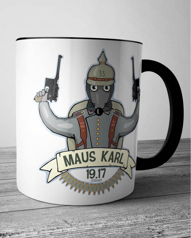 Керамическая кружка - MAUS KARL 19.17