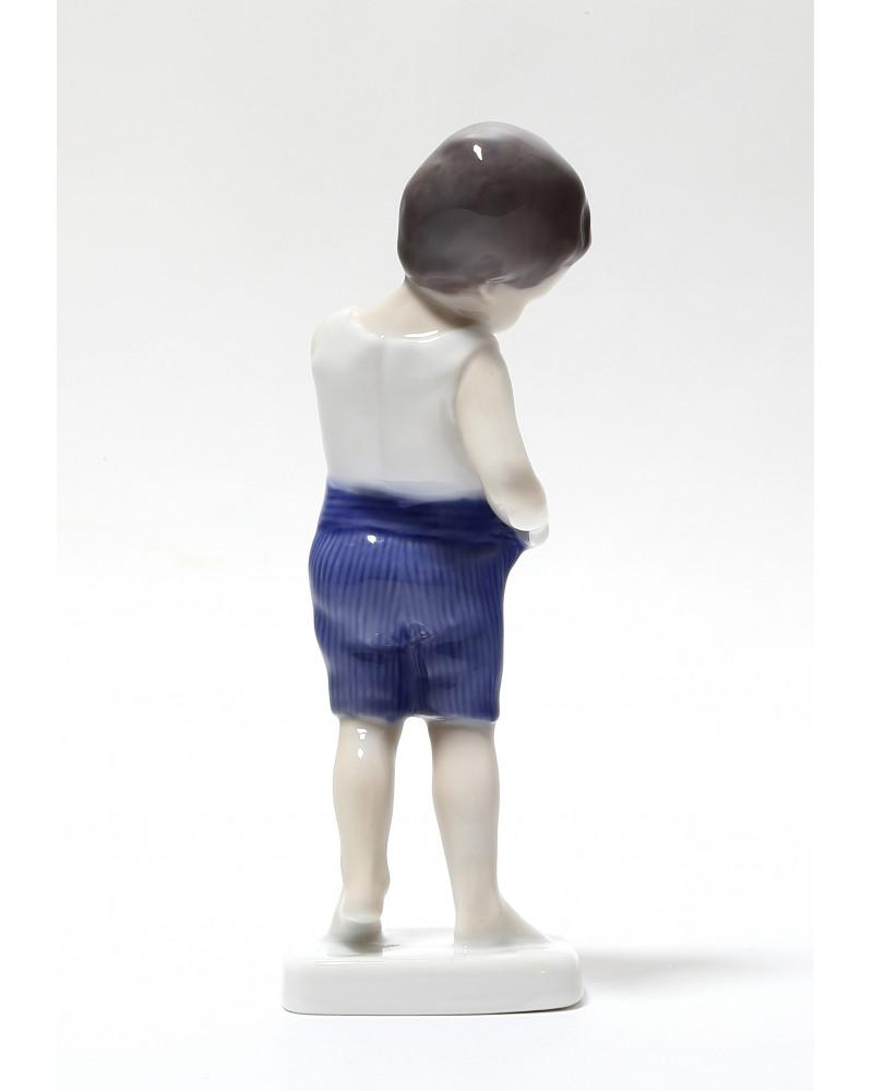 """Фарфоровая статуэтка """"Малыш"""". B&G Kjobenhavn Denmark, 1962-1970 гг."""