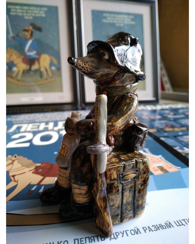 Карл. Коллекционная керамическая статуэтка. 1914